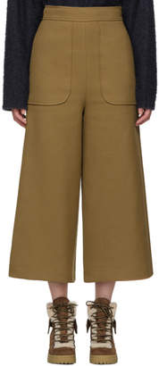 See by Chloe Brown Wide Leg Trousers