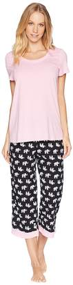 Jockey Capri Pajama Set Women's Pajama Sets