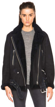 Acne Studios More Lamb Shearling Jacket