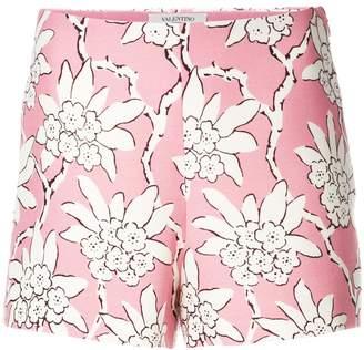 Valentino floral print shorts