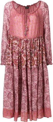 Twin-Set paisley print dress