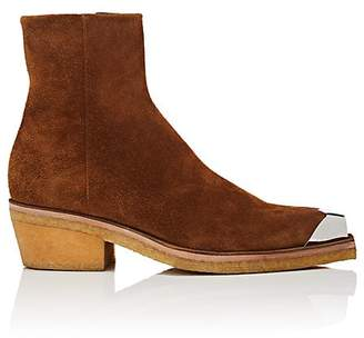 Calvin Klein Men's Metal-Tipped Suede Boots