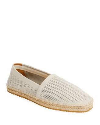 Giorgio Armani Men's Perforated Mesh Espadrille