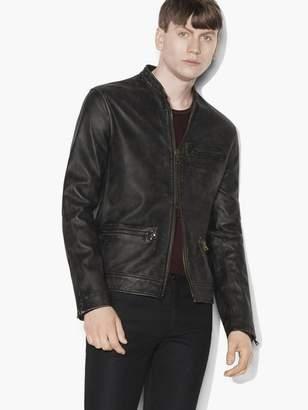 Vintage Leather Jacket $1,898 thestylecure.com