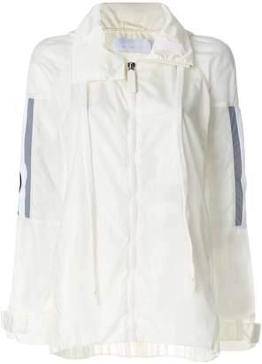 NO KA 'OI No Ka' Oi front zip jacket
