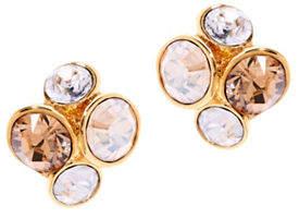 Ted Baker Lynda Swarovski Crystal Jewel Cluster Stud Earrings