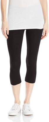 D&K Monarchy Women's Stretch Cotton Capri Leggings (U.S. Juniors)