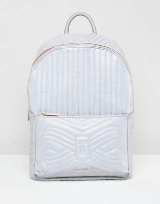 Ted Baker Quilted Bow Reflective Backpack