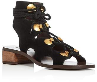See by Chloe Gladiator Lace Up Sandals