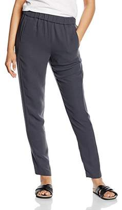 Mexx Women's Relaxed Trousers - Grey