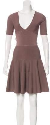 Issa Short Sleeve Mini Dress