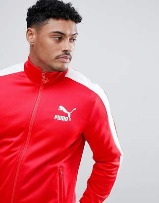 Puma Archive T7 Track Jacket In Red 57265882
