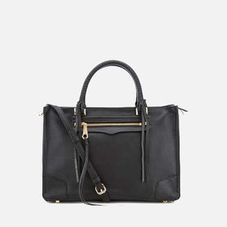 Rebecca Minkoff Women's Regan Satchel Bag - Black