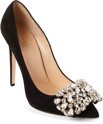 Gedebe Veronique Accented Leather Pumps