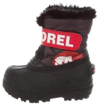 Sorel Boys' Round-Toe Snow Boots