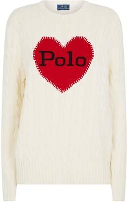 Ralph Lauren Heart Logo Sweater