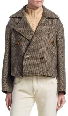 Khaite Carlotta Wool Cropped Jacket