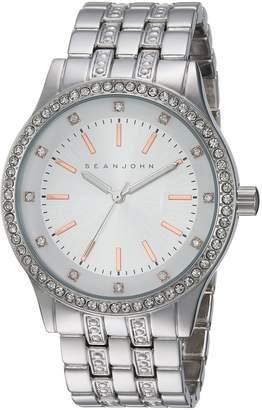 Sean John Men's Quartz Metal and Alloy Casual Watch, Color:-Toned (Model: 10031238)
