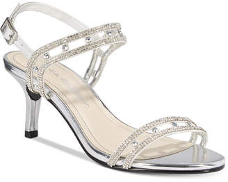 Caparros Happy Embellished Strappy Evening Sandals $79 thestylecure.com
