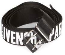 Givenchy Roll-Buckle Logo Belt