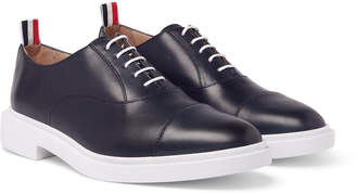 Thom Browne Cap-Toe Leather Oxford Shoes