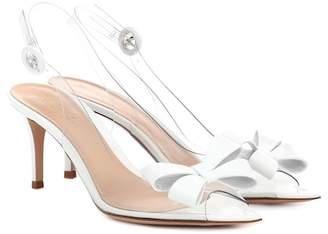 Gianvito Rossi Plexi 70 slingback sandals