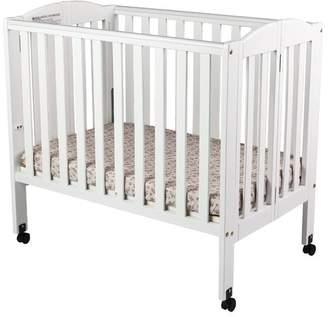 ... Dream On Me 2 In 1 Portable Folding Convertible Mini Crib
