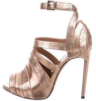 Alaia Ankle Strap Sandals
