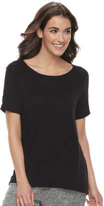 Sonoma Goods For Life Women's SONOMA Goods for Life Ribbed Trim Tee