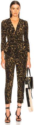 Stella McCartney Liliana Leopard Camouflage Jumpsuit