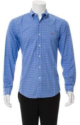 Ralph Lauren Plaid Button-Up Shirt