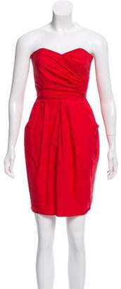 Hache Strapless Mini Dress