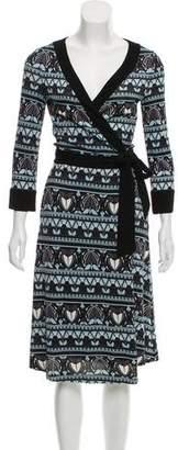 Diane von Furstenberg Silk Warp Dress