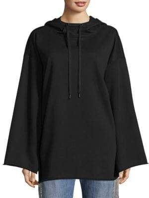 KENDALL + KYLIE Cotton Oversized Hoodie