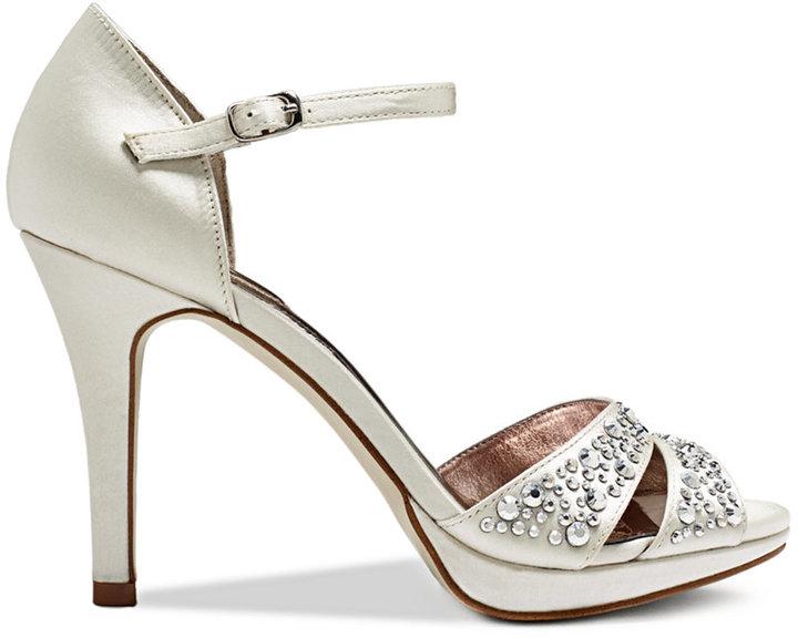Alfani Women's Ivvey Ankle Strap Platform Evening Sandals