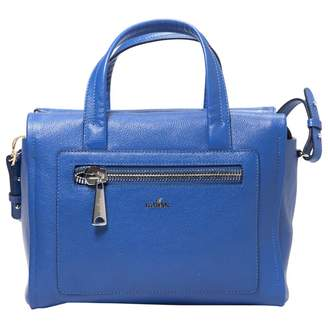 Hogan Blue Leather Handbag
