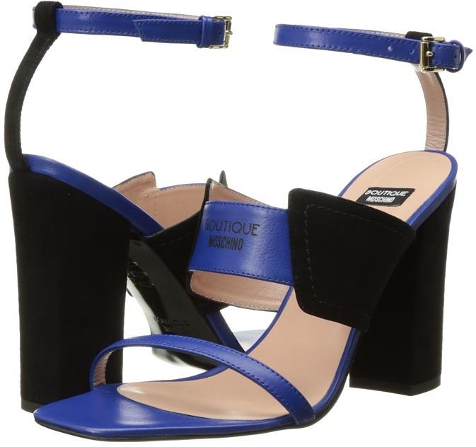 MoschinoBoutique Moschino - Tri-Strap Heel Women's Shoes