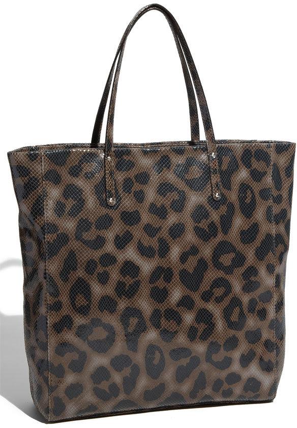 Halogen® Leopard Print Tote