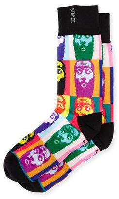 Stance x James Harden Lohraw Socks, Multicolor $18 thestylecure.com