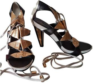 Diane von Furstenberg Leather Heels