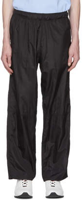 Our Legacy Black Para Sail Drape Lounge Pants