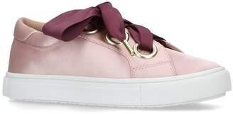 Kurt Geiger London Twirl Satin Sneakers