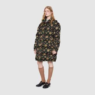 Gucci Floral bouquets nylon jacket