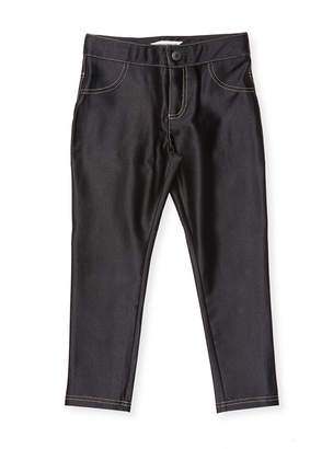 Little Marc Jacobs Contrast Faux Pocket Jegging