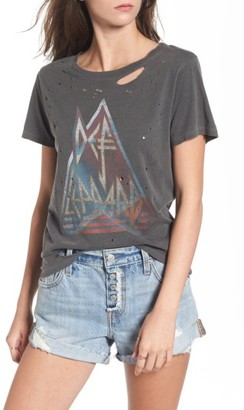 Women's Bp. Through The Night Destroyed Graphic Tee $62 thestylecure.com