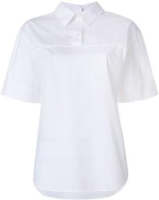 Cédric Charlier oversized polo shirt