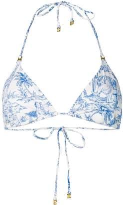 Tory Burch Far and Away bikini top