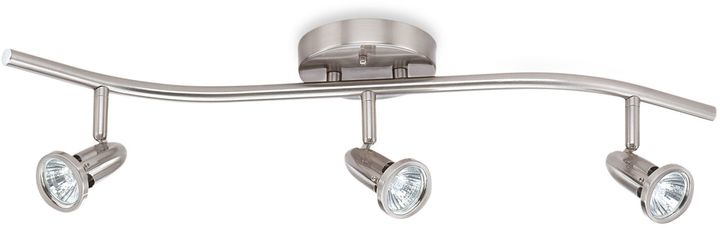 Bed Bath & Beyond 3-Light Ceiling Track Light in Satin Nickel