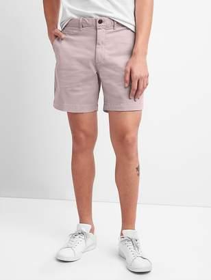 """Gap 7"""" Washwell Vintage Wash Shorts with GapFlex"""
