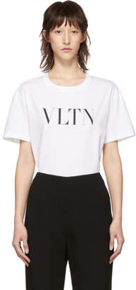 Valentino White VLTN T-Shirt